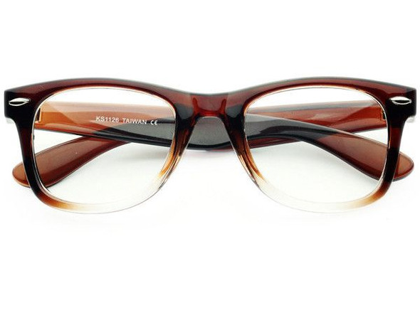 Lenseless Glasses Mix Brown or Black