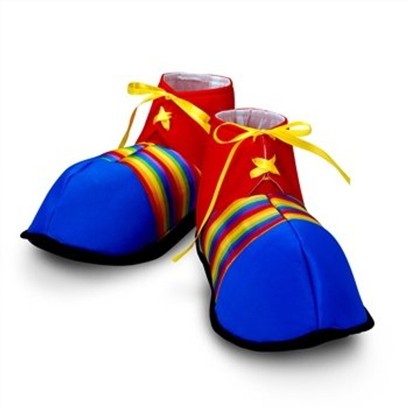 Jumbo Clown Shoes 12PK Circus 9256