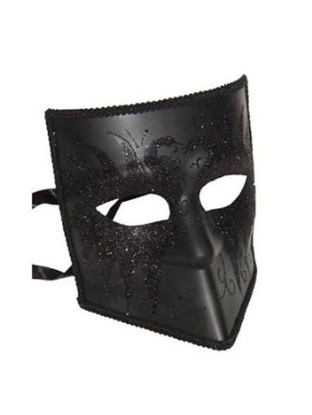 Iron Venetian Mask Black 9244