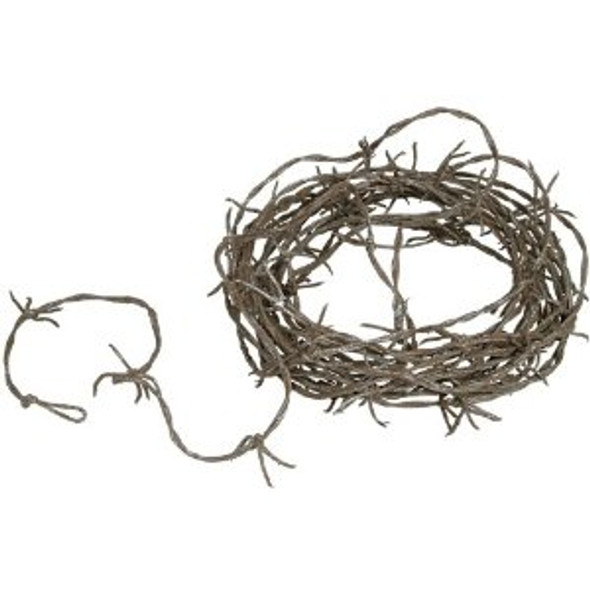 Barbed Wire Garland Rusty Wire Prop 9254