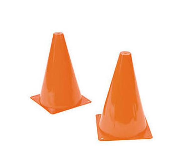 12 PACK Plastic Traffic Cones Orange 9259D