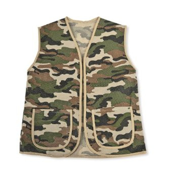 Child Camouflage Army Vest Play Costume with Pockets 4724