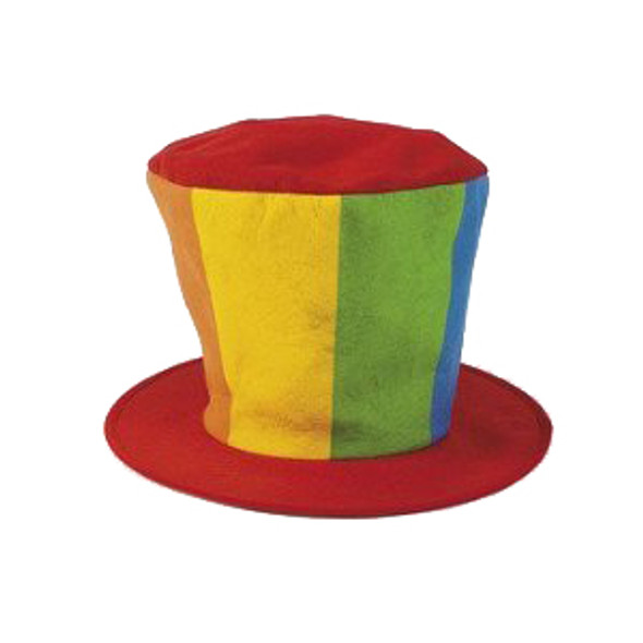 Clown Top Hat Party Costume Carnival 5991