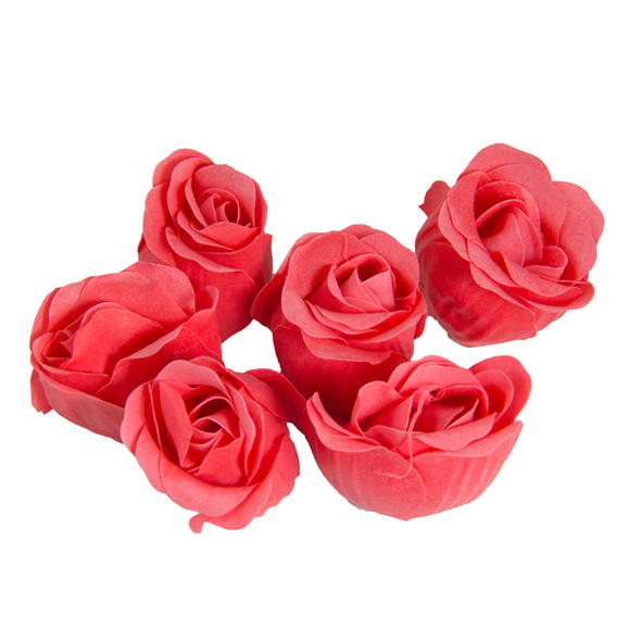 Red Rose Petal Soaps 9002A