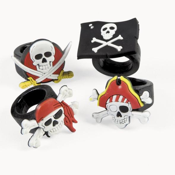Pirate Rings Bulk 12 PACK 9907