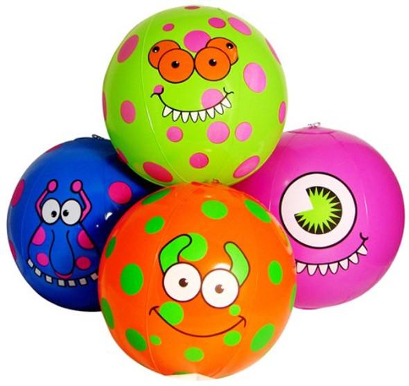 "Monster Beach Balls 11"" 12 PACK 3399"