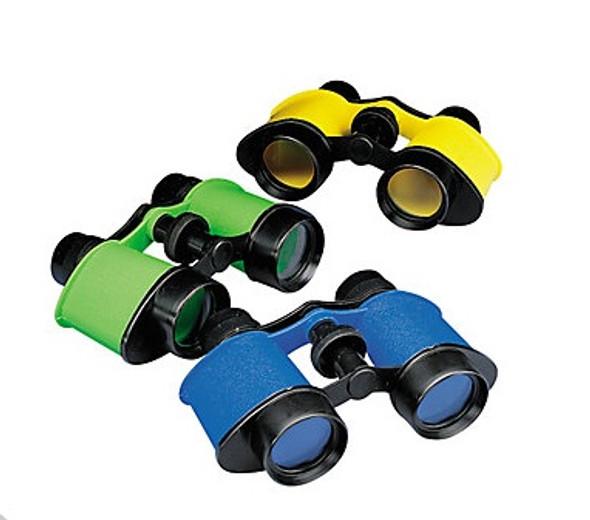 Kids Binoculars 12 PK Plastic 3402