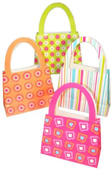 Purse Handbag Gift Bags 12 PK 3929D
