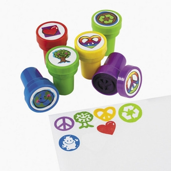 Peace Sign Stampers 24 PACK 9285