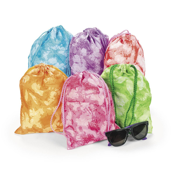 Tie-Dyed Tote Bags Drawstring 72 PCS 3405D