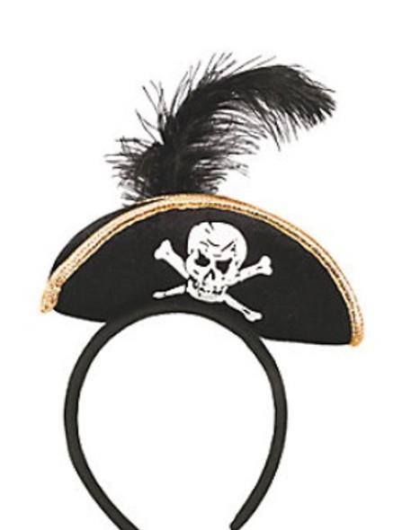 Mini Pirate Hat Headband | Mini Pirate Hat | 5802