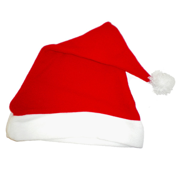 LED Santa Hat w/ Flashing Ball 12 PACK 5993