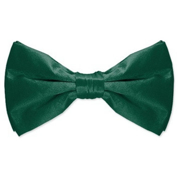 Satin Bow Tie Irish Kelly Green Men's 12 PACK WS6839D