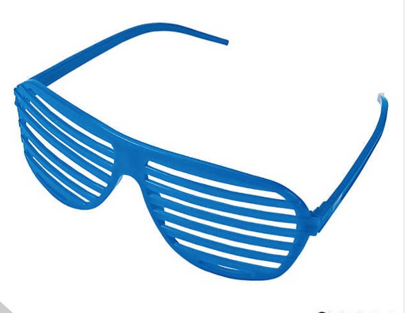 Blue Shutter Shades 12 PACK WS1164D