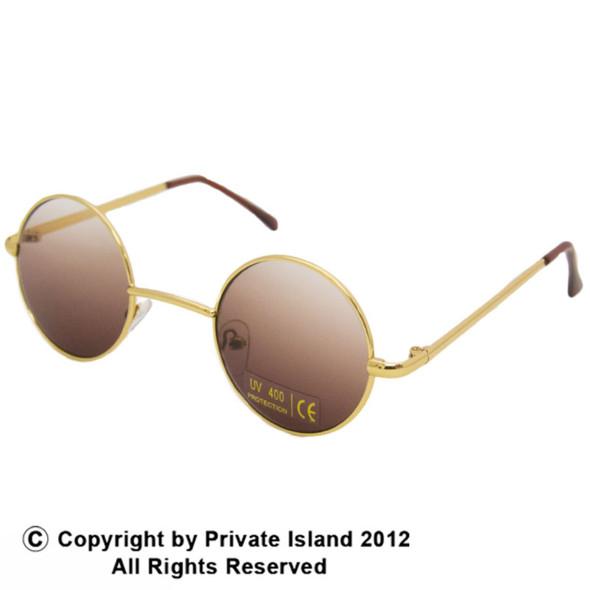 12 PACK John Lennon Gold Glasses WS1099D