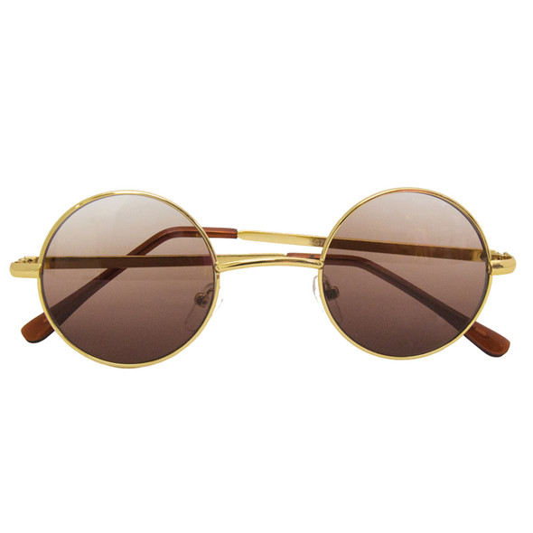 12 PACK John Lennon Gold Glasses WS1099D