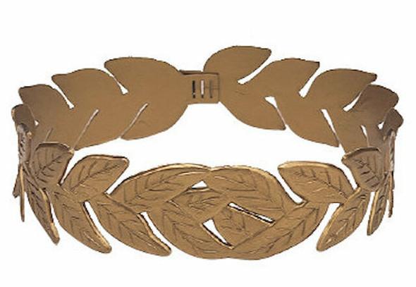 Gold Laurel Roman Headband 12 PACK WS1709D