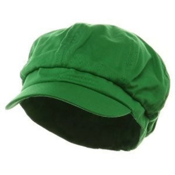 Paperboy Hat | Luigi Hat |  Green 12PK Adult Rayon WS1404D