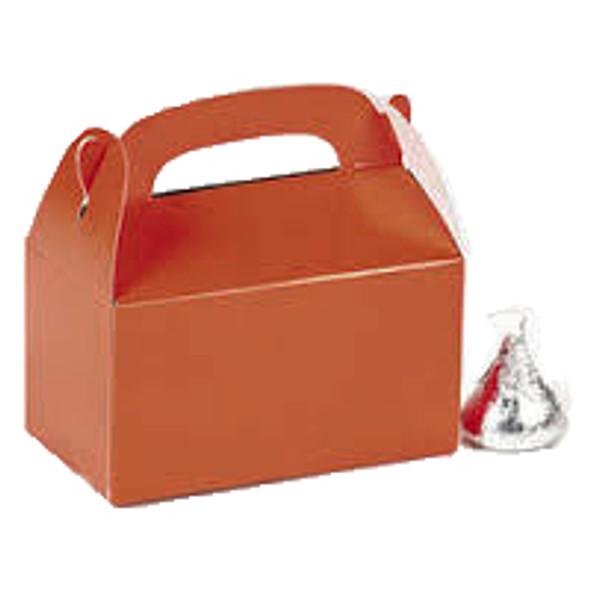 24 PACK Mini Orange Treat Boxes Bulk941D