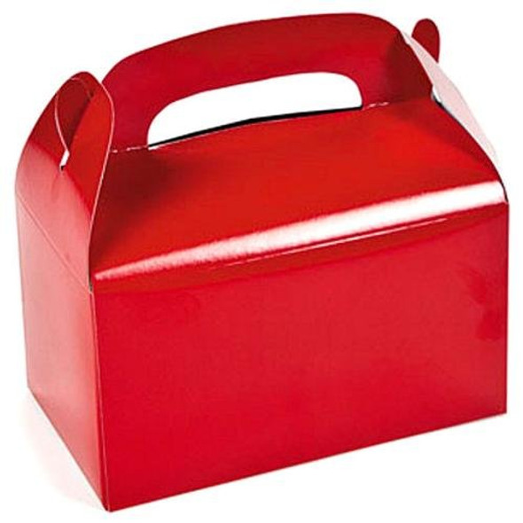 Red Treat Boxes 12 PACK 3942D