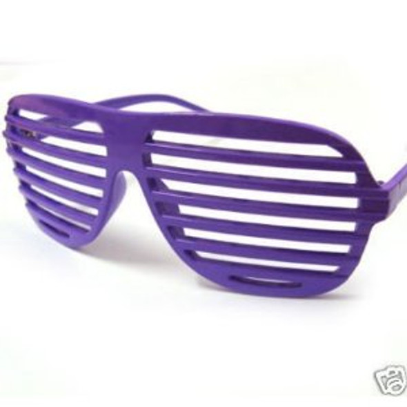 Purple Shutter Shades 12 PACK WS1159D
