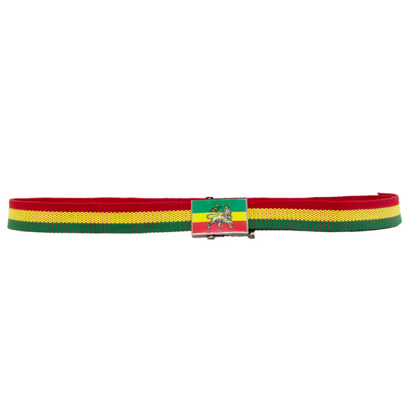Canvas Rasta Belt Lion 12PK DZ WS2205D