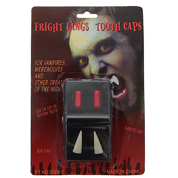 Vampire Teeth Caps | Halloween Teeth | 12 PK WS1632D