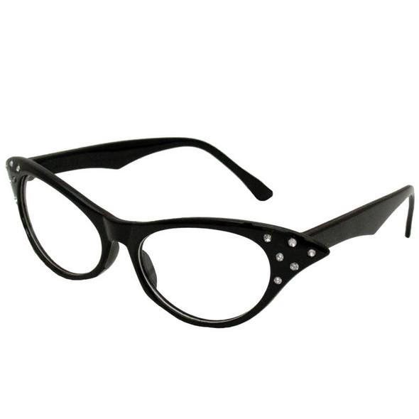 Black Cat Glasses Wholesale | Black Cat Glasses Bulk | 12 PACK WS1189D