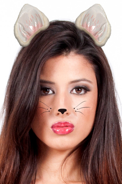 Cat Ears White 12 PACK WS1674D