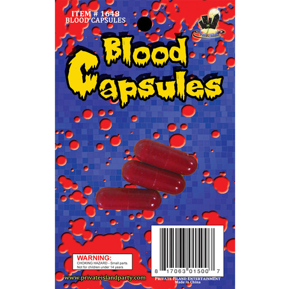 Blood Capsules 12 PACK  WS1648D