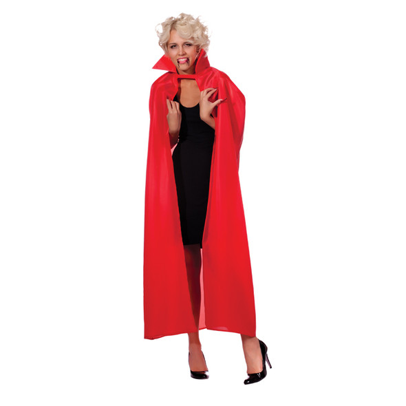 "Red Costume Cape Adult Bulk 12 PACK 56"" WS4520D"