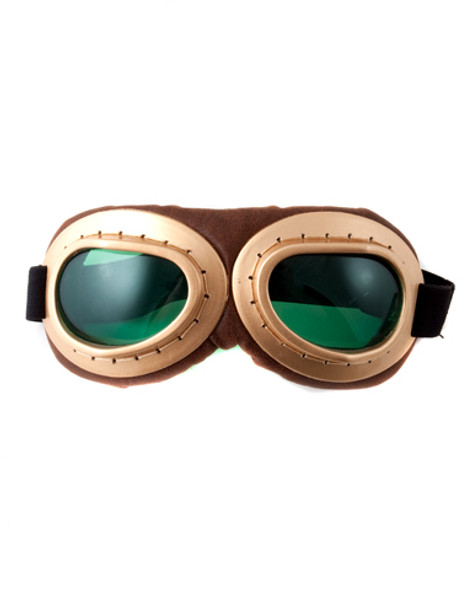 Aviator Motorcycle Goggles | Steampunk Goggles | 12 PACK WS1183D