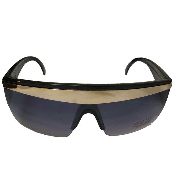 Lady Gaga Costumes | Lady Gaga Glasses | Gold Stripe 12 PACK WS1140D