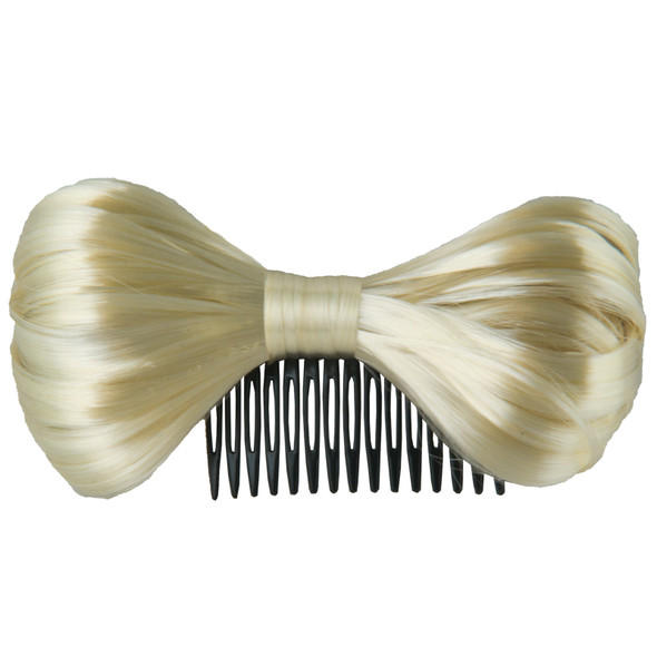 Bow Hair Clip Bulk Blonde 12 PACK  WS6652D