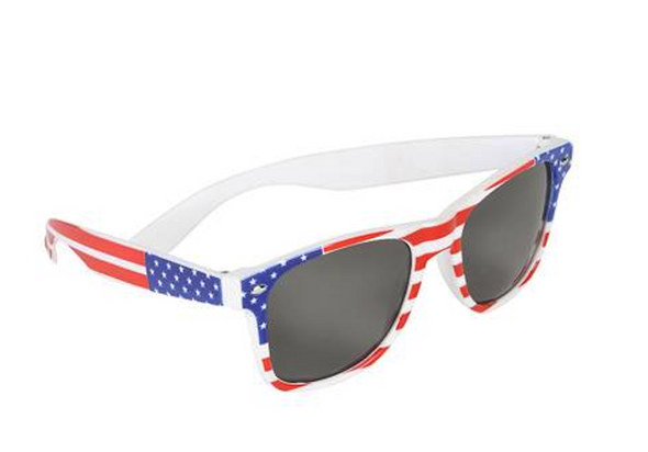 American Flag Sunglasses Bulk | 12 PACK Adult Size WS1061