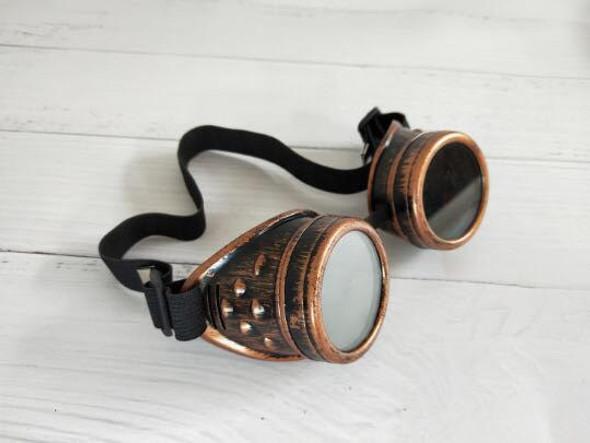 Victorian Steampunk Glasses | Bronze Deluxe