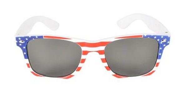 American Flag Sunglasses | Iconic 80's Style | Bulk 12 PACK Adult WS1061D