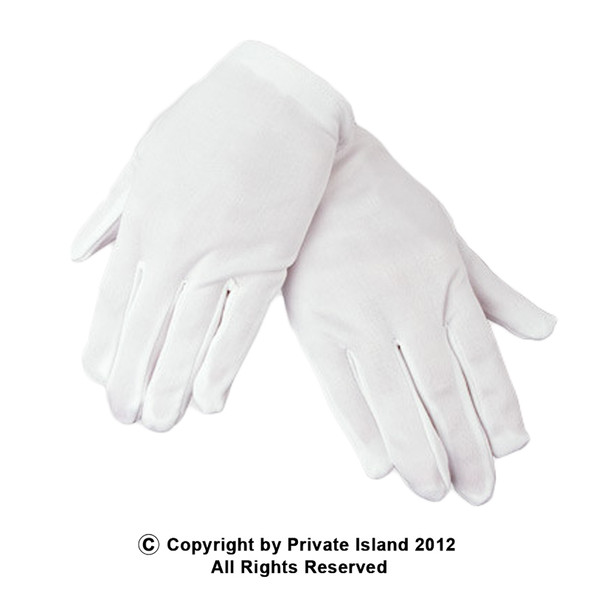 Child White Cotton Gloves 12 PACK  PAIR 5032