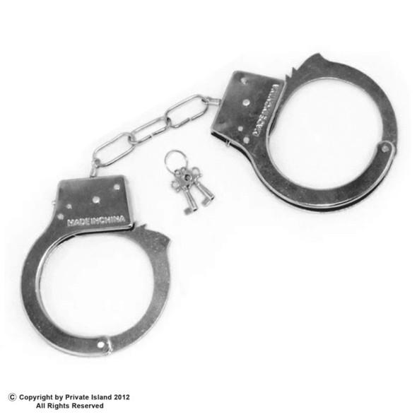 12 PACK Metal Handcuffs w/ Keys 1610D