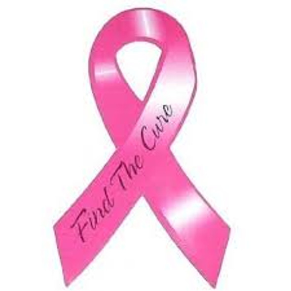 Breast Cancer Car Magnets Bulk Wholesale 12 PACK 10001