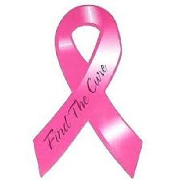 Breast Cancer Car Magnets Bulk Wholesale 12 PACK 10001