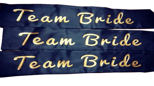 "Bachelorette Sashes, Custom Sashes for Bachelorette Parties 60"" (Fonts in Picture Gallery)"