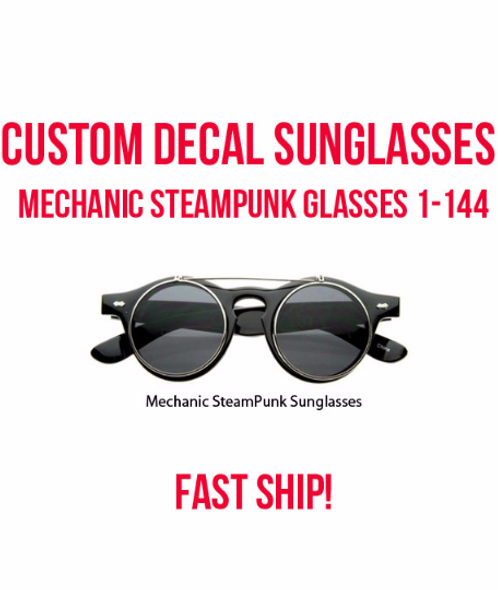 Custom Steampunk Glasses | Halloween Steampunk Glasses 15057
