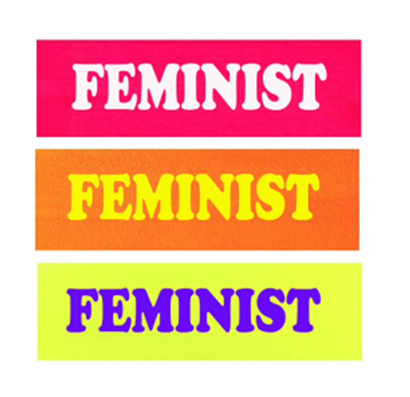Feminist Workout Headband Customized (Fonts in Picture Gallery)