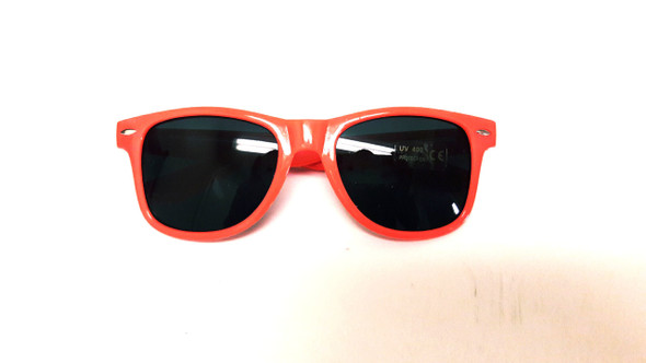 Fluorescent Pink Sunglasses | Iconic 80's Sunglasses Adult 16000