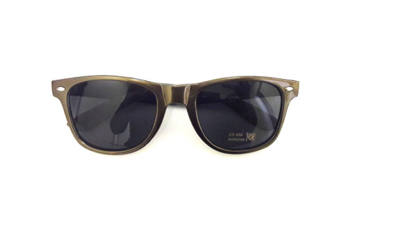 Gold Iconic 80's Sunglasses Adult 12 PACK 16003