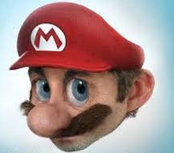 Mario Mustache 1620M