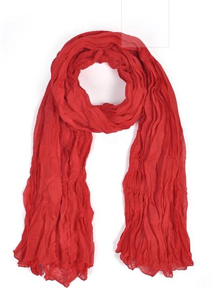 Wholesale Red Scarves | Bulk Viscose Scarf 12 PACK 2042D