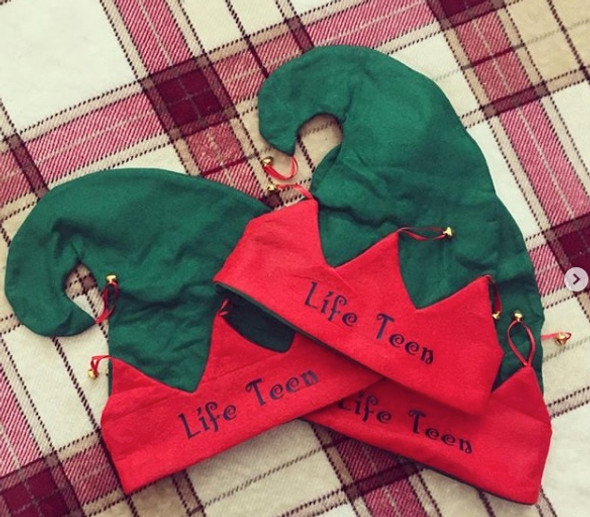 Customized Elf Hats |  Personalized Elf Hats | Newborn - Adult - Font List in Photo Gallery
