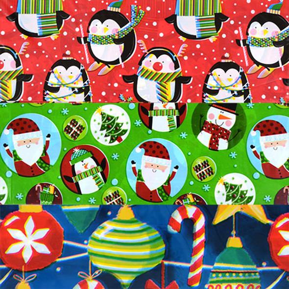 Jumbo Gift Bags | Santa Bags | 12PK 13092